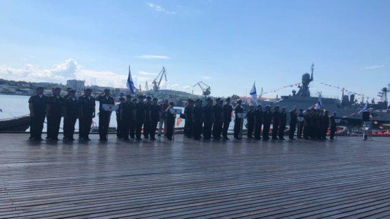 В Севастополе начался конкурс по морской выучке «Морской Бриз»
