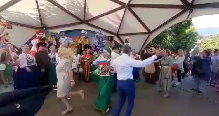 Председатель Госсовета Крыма зажёг на танцполе в Ялте