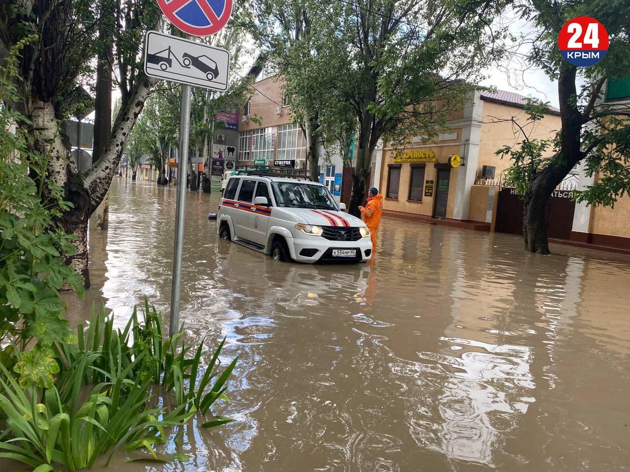 В Керчи продолжают эвакуировать людей