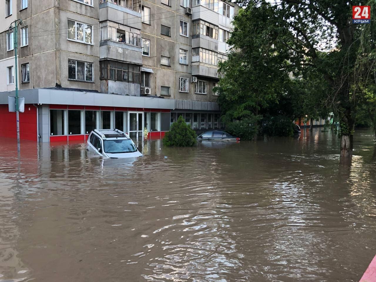 Выплаты пострадавшим жителям Керчи из-за наводнения могут начаться с 22-23 июня