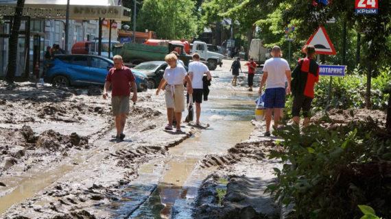 В Ялте до конца недели должны завершить все аварийно-восстановительные работы