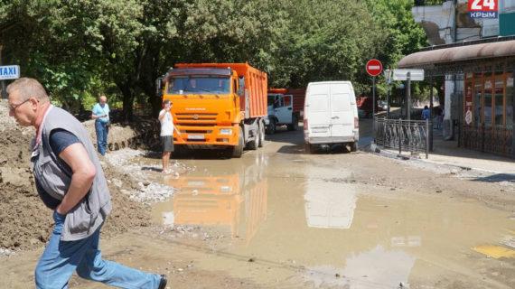 МЧС предупредило о подъёме уровня воды в реках Ялты