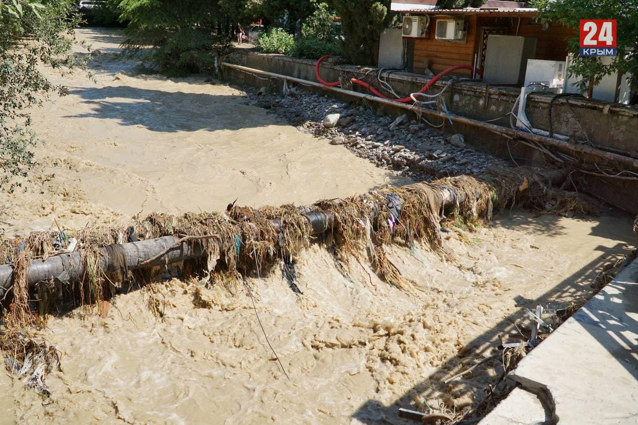Информационная сводка о подтоплении в Керчи и Ялте на 21 июня