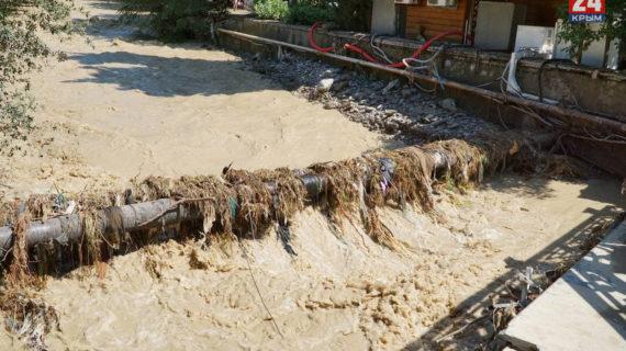 Пострадавшие крымчане после наводнения смогут реструктуризировать свои кредиты