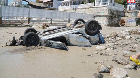 В Крыму составили 1391 акт повреждённого имущества после потопа на сумму 236 миллионов рублей