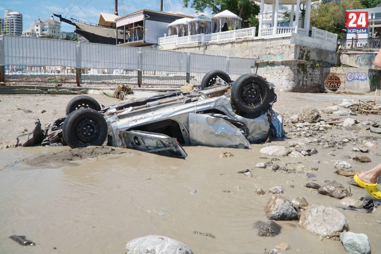 Более 80 жителей Ялты получили выплаты за повреждённое имущество во время потопа