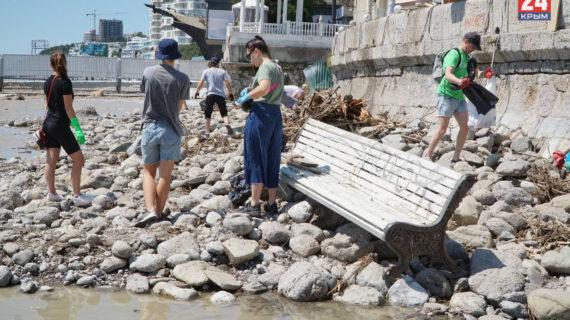 Примерно в 10 миллиардов рублей оценили ущерб от паводков в Крыму