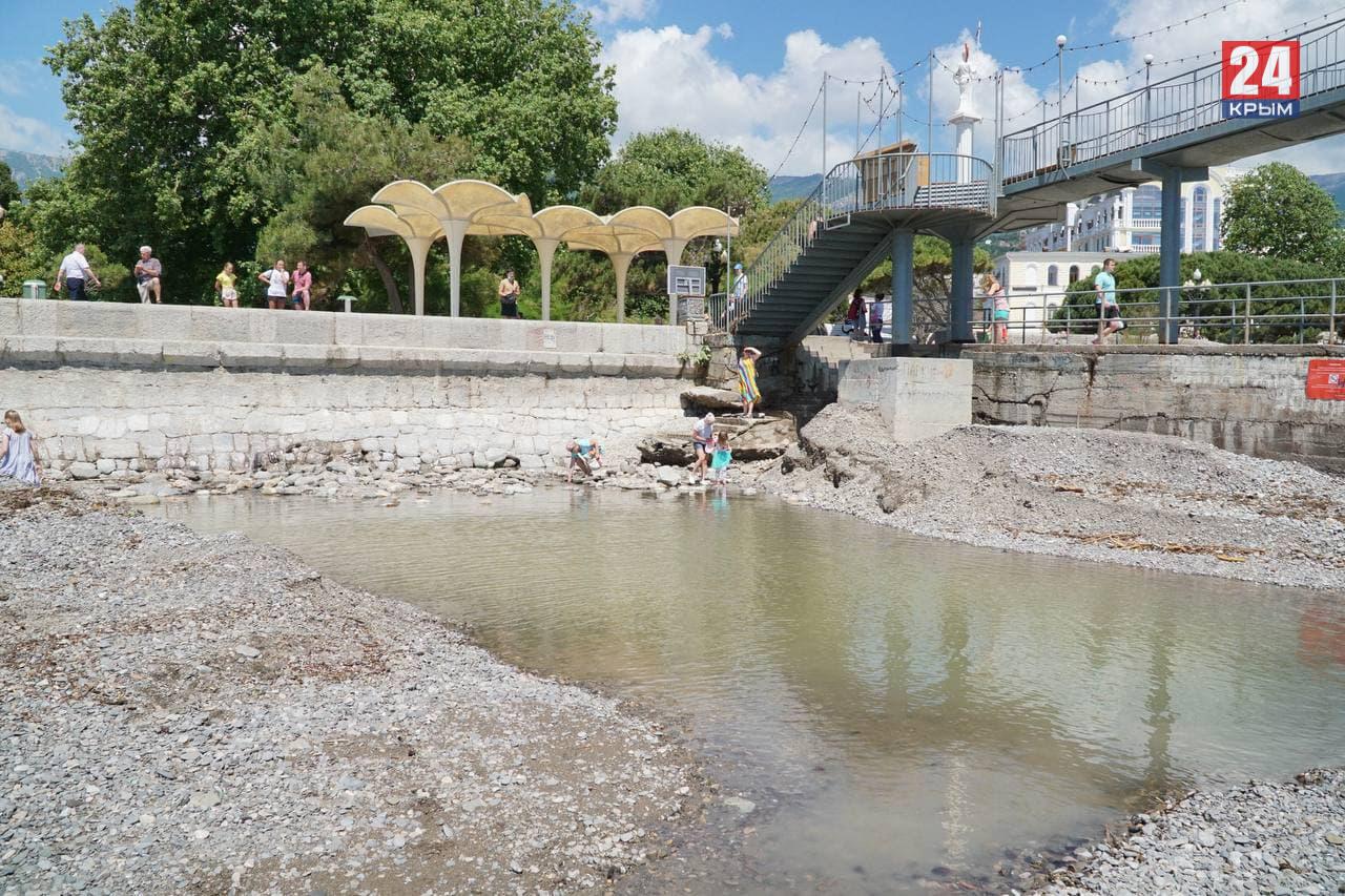 Врач объяснил, почему после наводнения в Крыму нельзя купаться в море