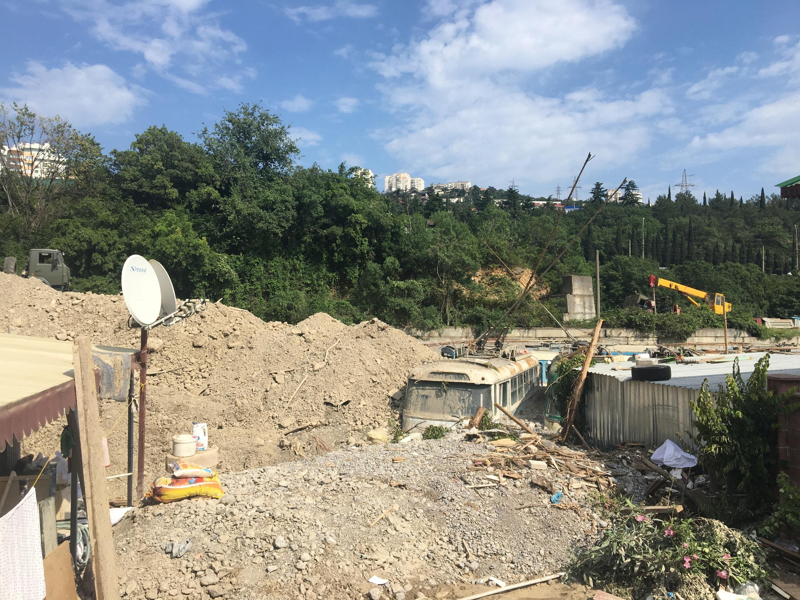 Для расчистки Васильевки необходимо вывезти 1,5 миллиона кубов грунта