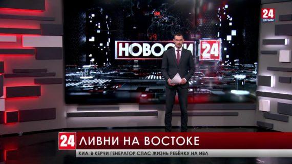 Сильные ливни идут в Кировском районе