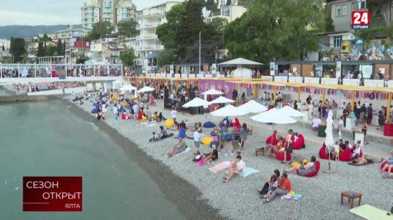 Как в Крыму проходит начало туристического сезона?