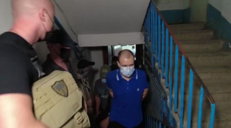 ФСБ опубликовала видео с задержания симферопольца, который собирал данные для украинской разведки