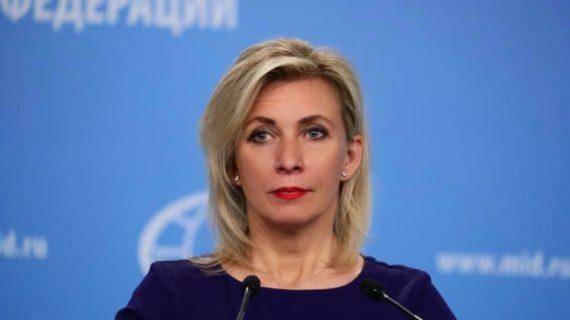 Захарова требует от Чехии предоставить точную информацию о причинах задержания в Праге активиста «Крымской весны»