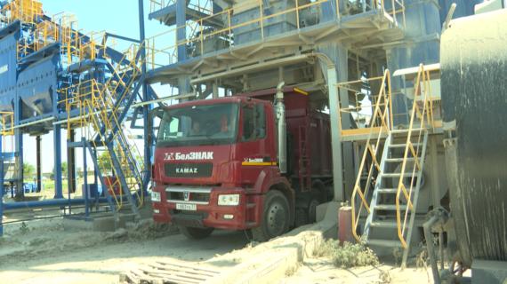 Компания «БелЗНАК» строит дороги в населенных пунктах северного Крыма