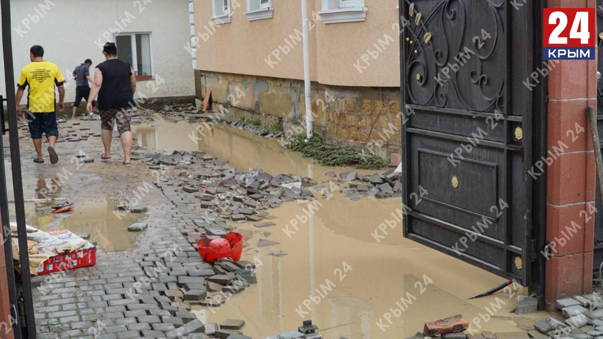 В Бахчисарайском районе 108 объектов оказались подтопленными, 5 домов признали аварийными