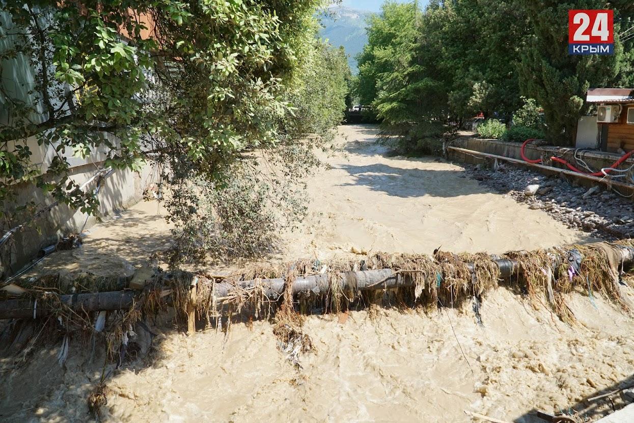 В Ялте за 200 миллионов рублей очистят русла рек