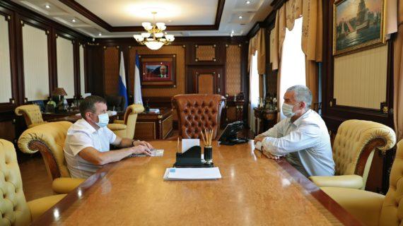 Министр экологии и природных ресурсов Крыма написал заявление об увольнении