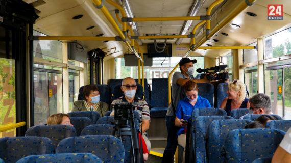 В общественном транспорте Ялты усиливается профилактика соблюдения масочного режима