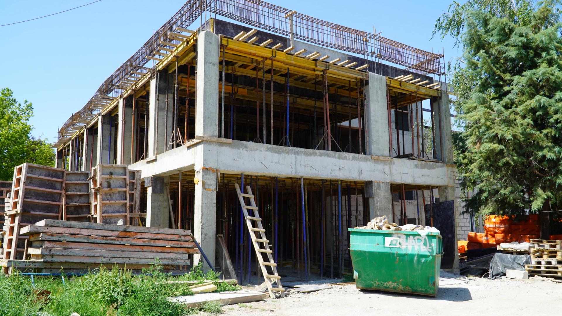 Капитальное строительство художественного училища им. Самокиша в Симферополе завершат весной 2022 года