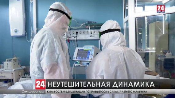 В Крыму за неделю COVID-19 заболели больше двух с половиной тысяч человек
