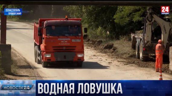 В селе Фронтовое подтопило проезд к домам: как устраняют последствия недавнего ливня