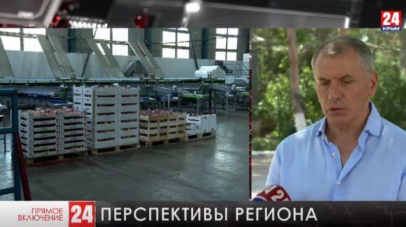 Владимир Константинов побывал в сёлах Бахчисарайского района