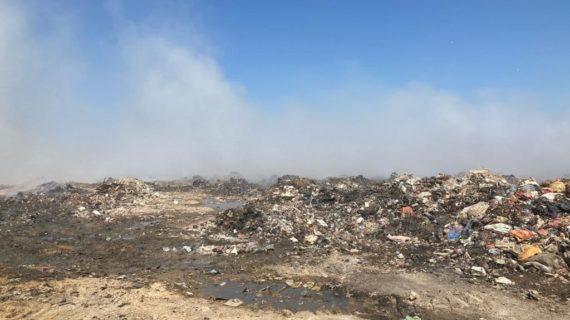 Что сейчас происходит на мусорном полигоне в Евпатории