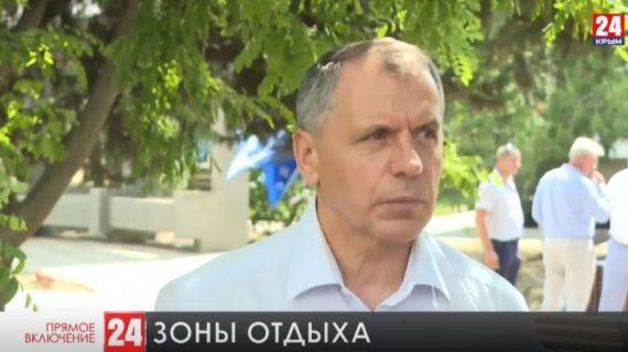 Владимир Константинов с рабочим визитом посетил Бахчисарайский район