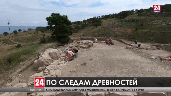 Исследователи обнаружили следы поселения на вершине  Тепе-Оба