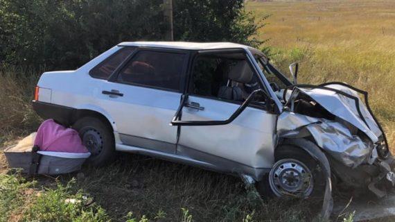 В Сакском районе пять человек пострадали в аварии