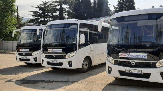 Между Ялтой и Симеизом курсируют 7 новых автобусов