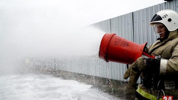 В Джанкойском районе  при пожаре в многоэтажке погиб человек