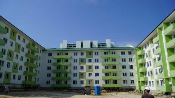 В Симферопольском районе строят две многоэтажки дляранее депортированных граждан