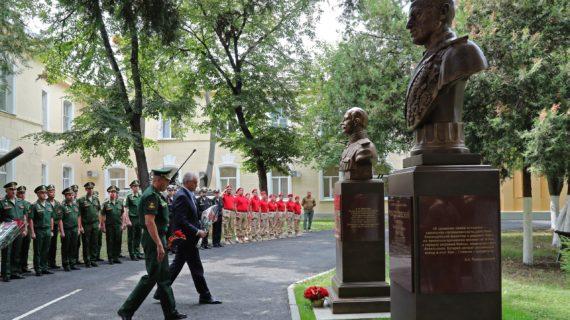 В Симферополе открыли бюсты полководцев Алексея Брусилова и Константина Рокоссовского