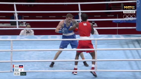 Симферопольский боксёр Глеб Бакши одержал ещё одну победу на Олимпиаде в Токио