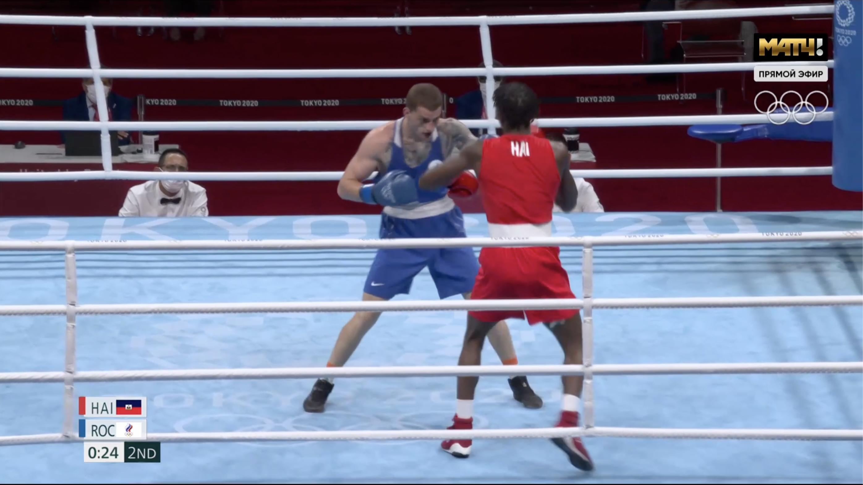 Крымский боксёр Бакши прошёл в полуфинал Олимпийских игр в Токио