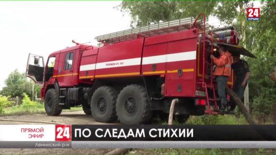 По следам стихии. Как в Ленинском районе спустя сутки справляются с последствиями циклона?