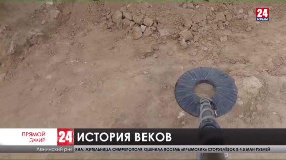 Надгробную плиту с эпитафией на греческом языке обнаружили в руинах городища Артезиан
