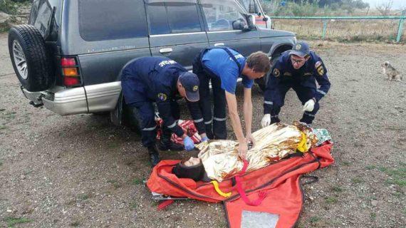 На горе Демерджи туристка пострадала от взрыва газового баллона в палатке