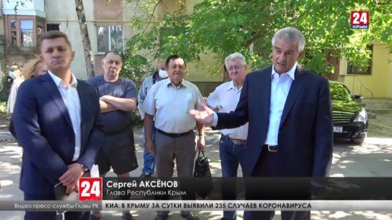 Глава Республики проверил ход ремонтных работ в посёлке Аграрное