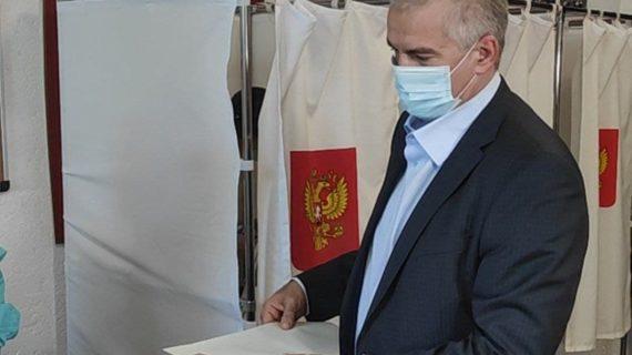 Аксёнов: Всё было прозрачно, выборы в Крыму прошли в полном соответствии с российским законодательством