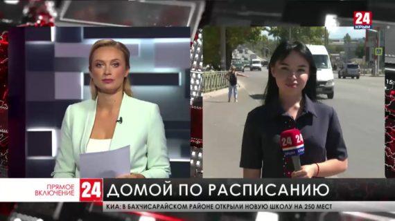 В селе Новозбурьевка  решили проблему с задержкой общественного транспорта