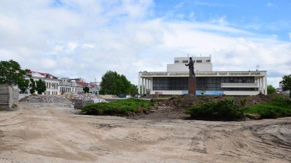 Площадь Ленина в Симферополе начнут благоустраивать заново