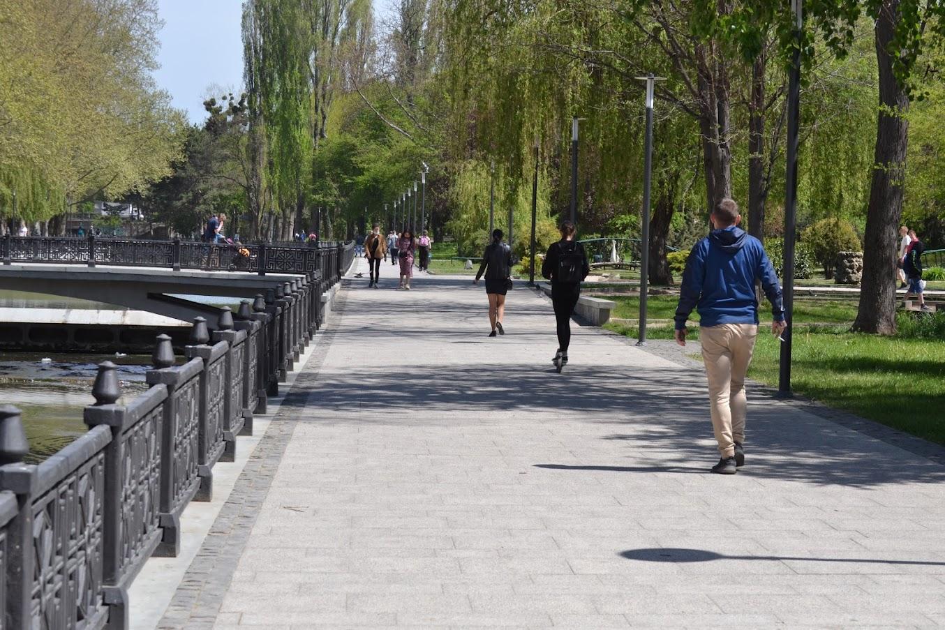 Власти Симферополя ищут средства на продолжение благоустройства набережной