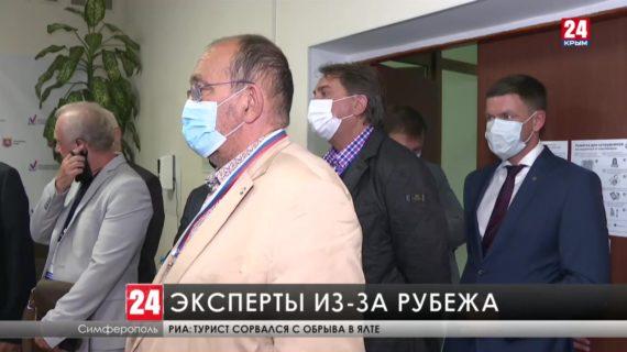 Иностранные делегаты  следят за прозрачностью и легитимностью голосования в Крыму