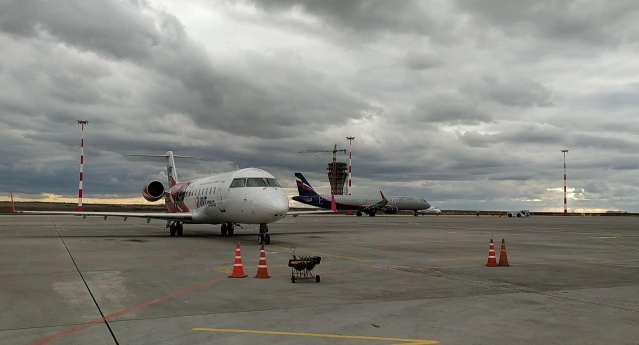 Аэропорт Симферополя принял первый прямой рейс из Махачкалы