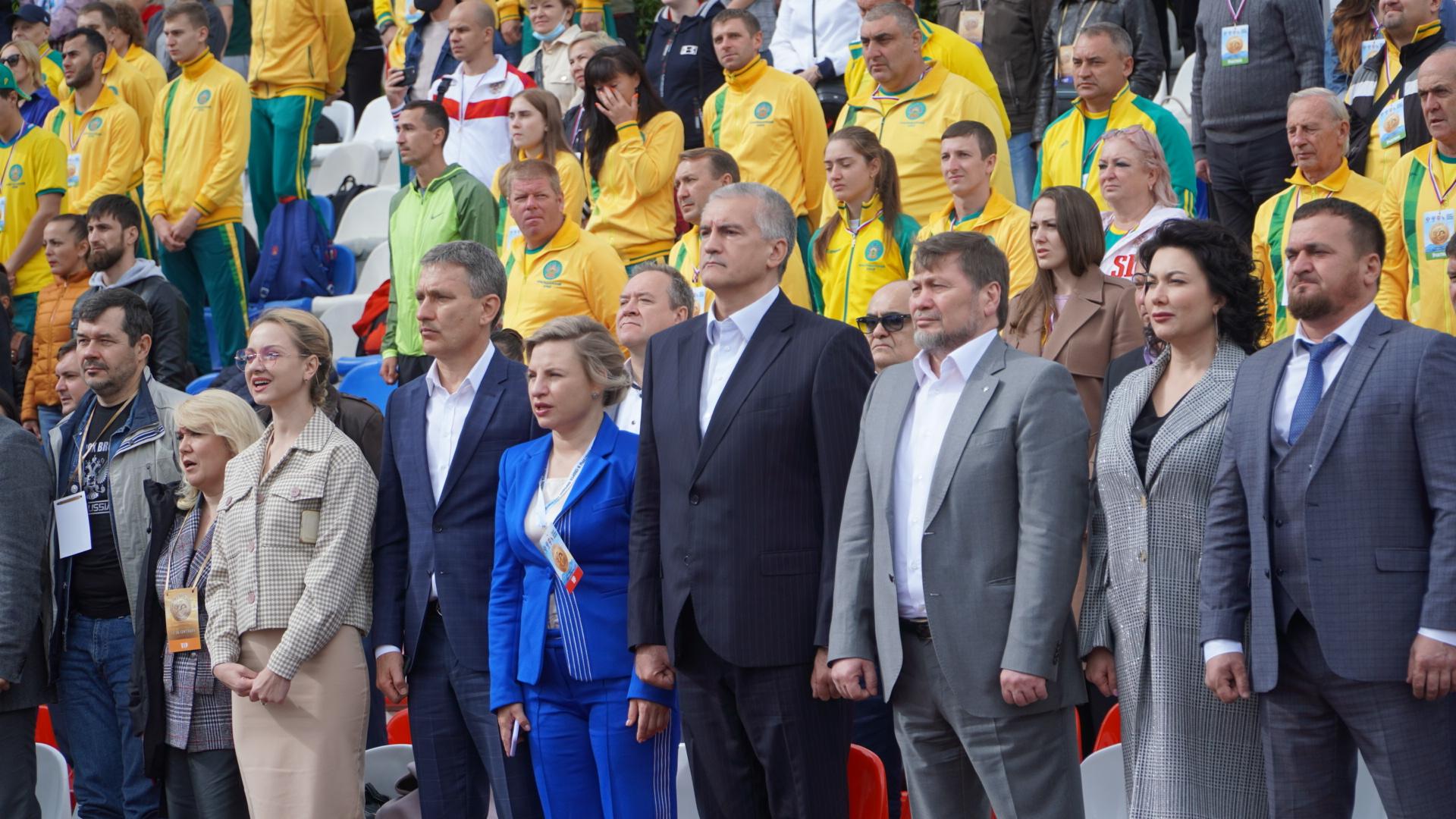 Глава Крыма принял участие в церемонии открытия фестиваля культуры и спорта народов Юга России