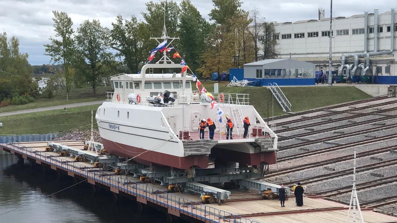 В Севастополе представили корабль, спроектированный студентами. Фото, видео
