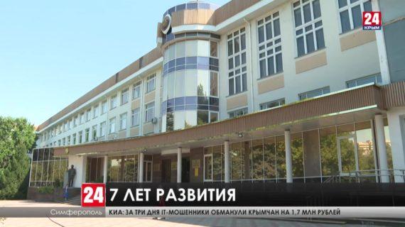 Как в Крыму развивается медицина, образование, наука? Подробнее об итогах семилетки