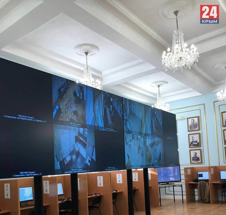 В Севастополе впервые открылся Центр общественного наблюдения